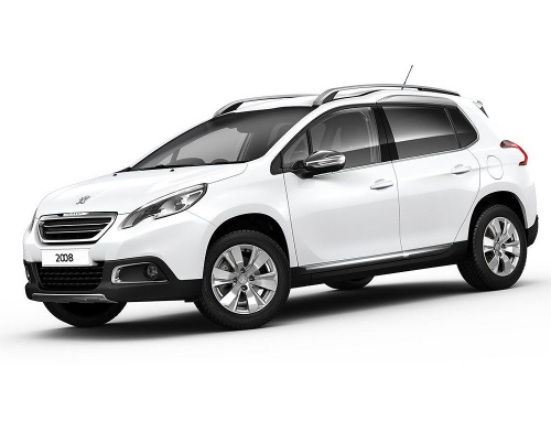 Peugeot 2008 (or similar) SUV Car Hire