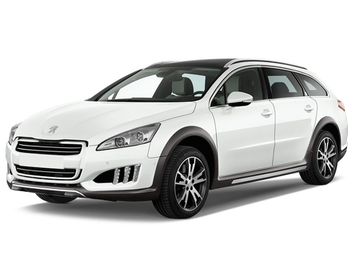 Peugeot 508 (or similar) Large, Estate Car Hire